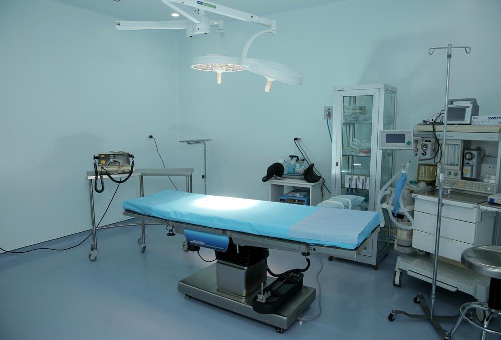 Sala de Cirugia Clinica Santa Teresa Costa Rica